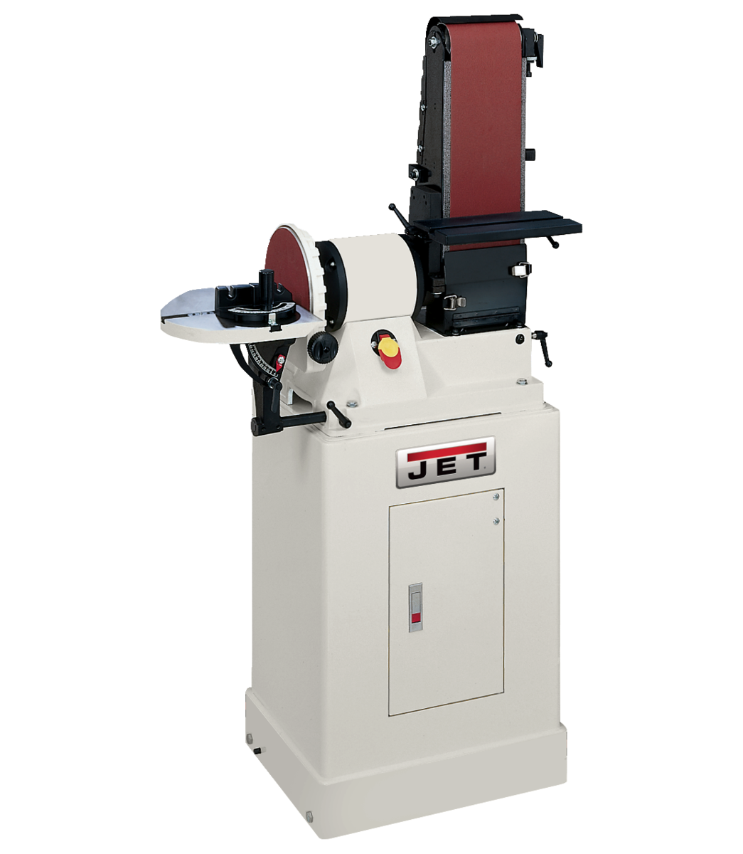"JSG-96CS, 6"" x 48"" Belt / 9"" Disc Sander with Closed Stand, 3/4HP 1Ph, 115V"