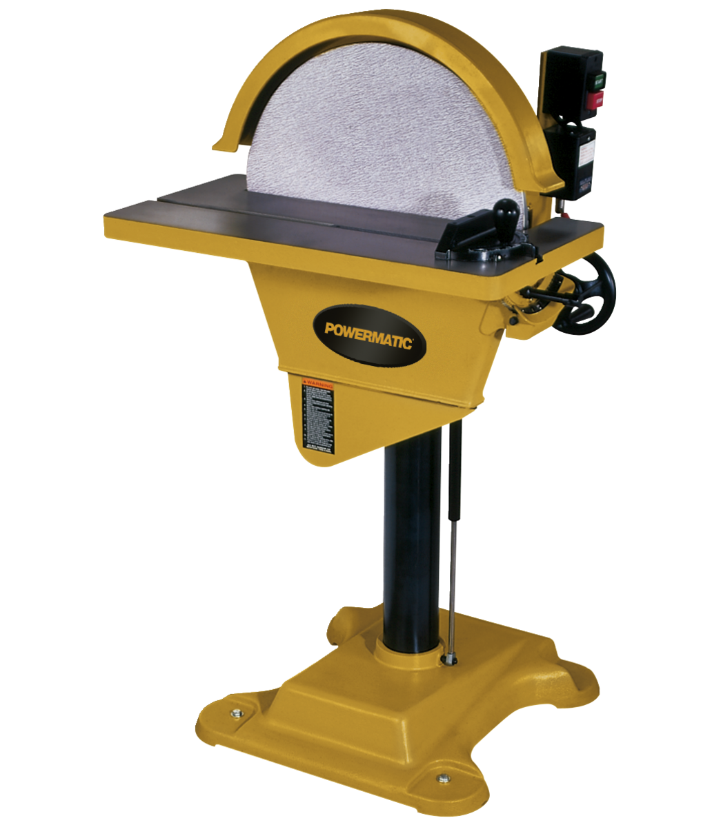 Manual: DS20 Disc Sander, 2HP 1PH 230V