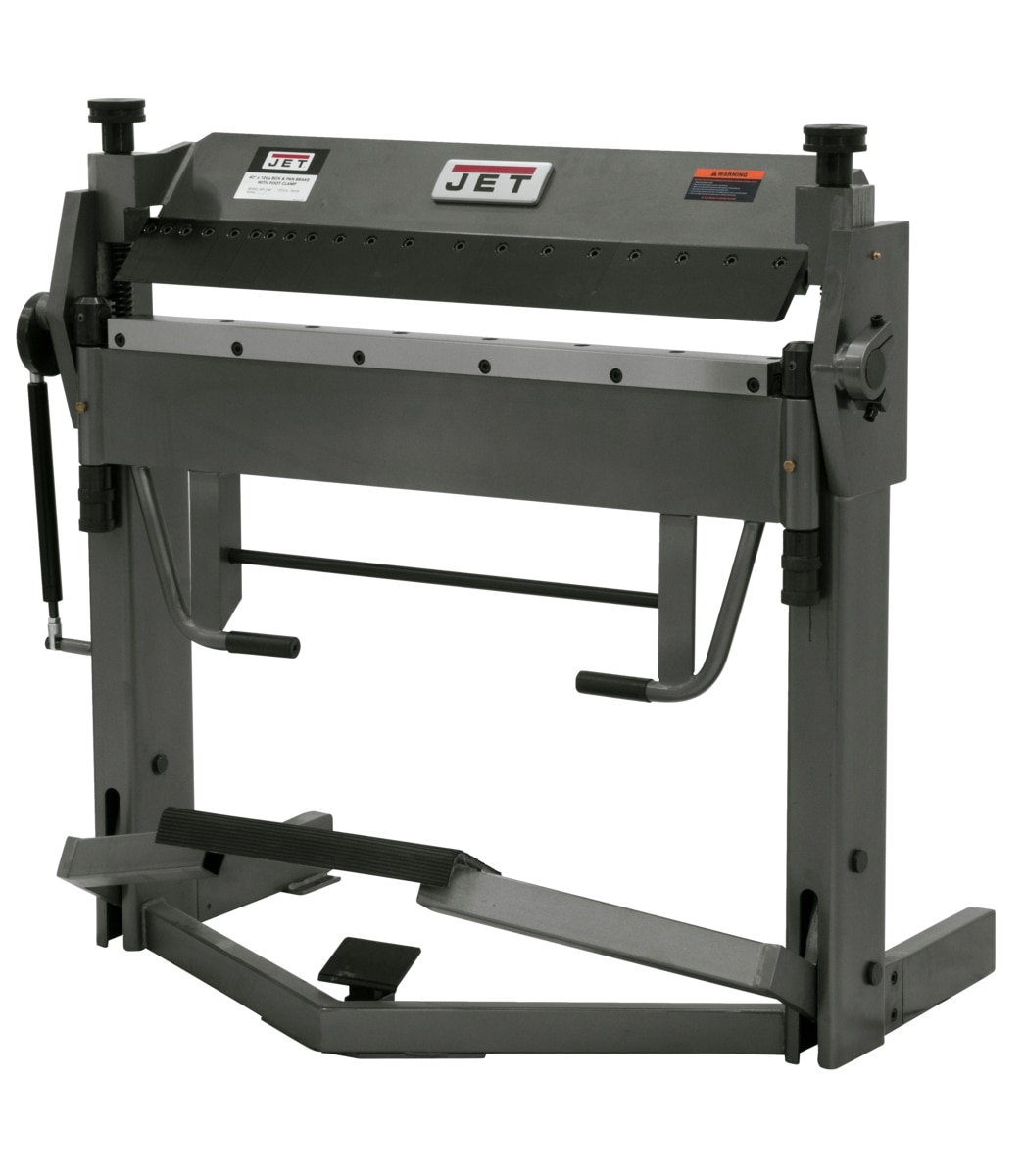"BPF-1240, 40"" x 12 Gauge Box & Pan Brake With Foot Clamp"