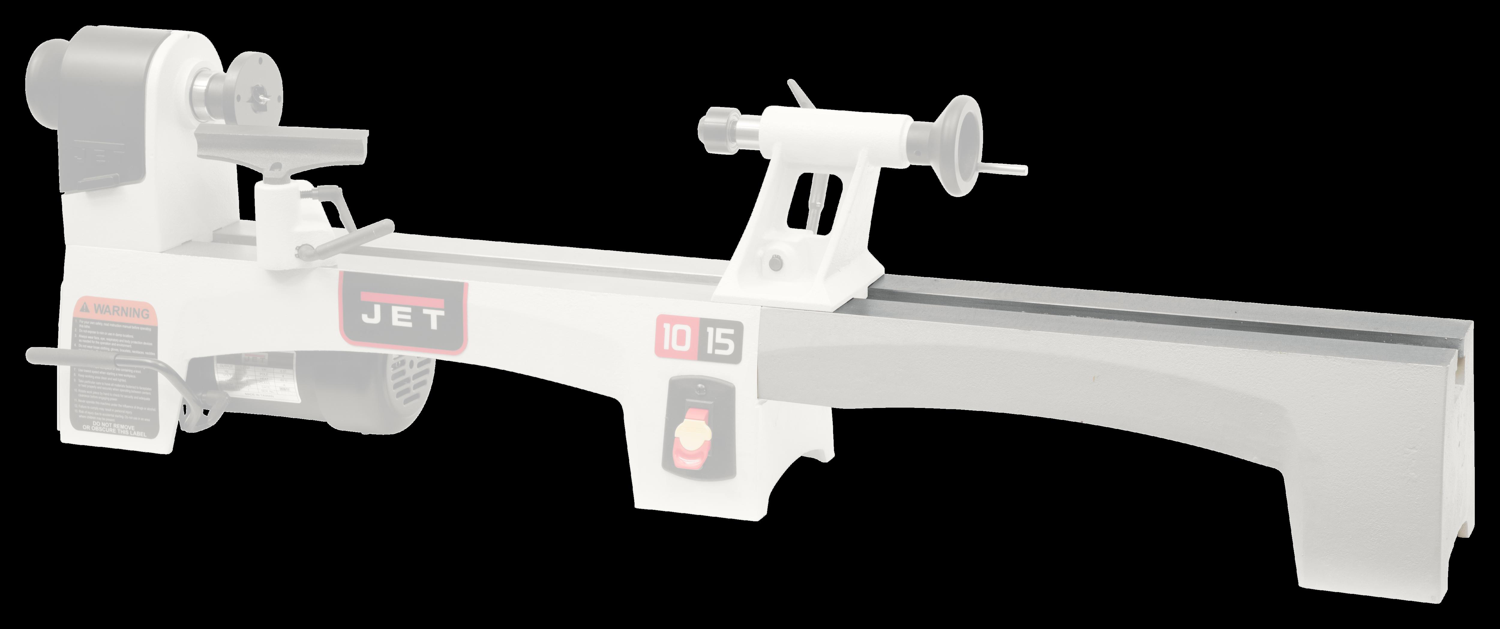 Bed Extension for Jet JWL-1015 Lathe