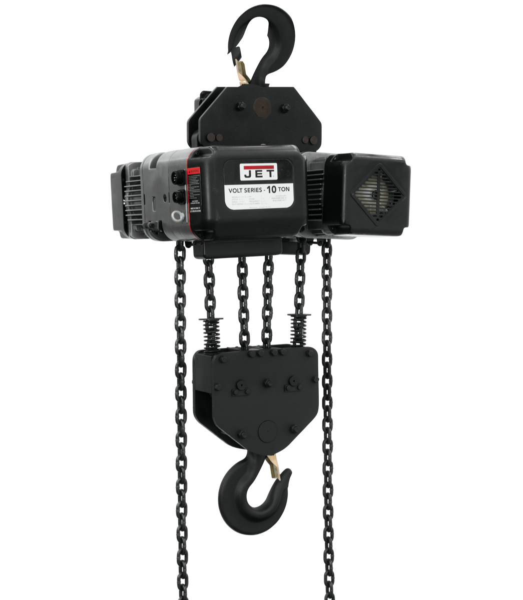 VOLT 10T VARIABLE-SPEED ELECTRIC HOIST  3PH 460V 10' LIFT