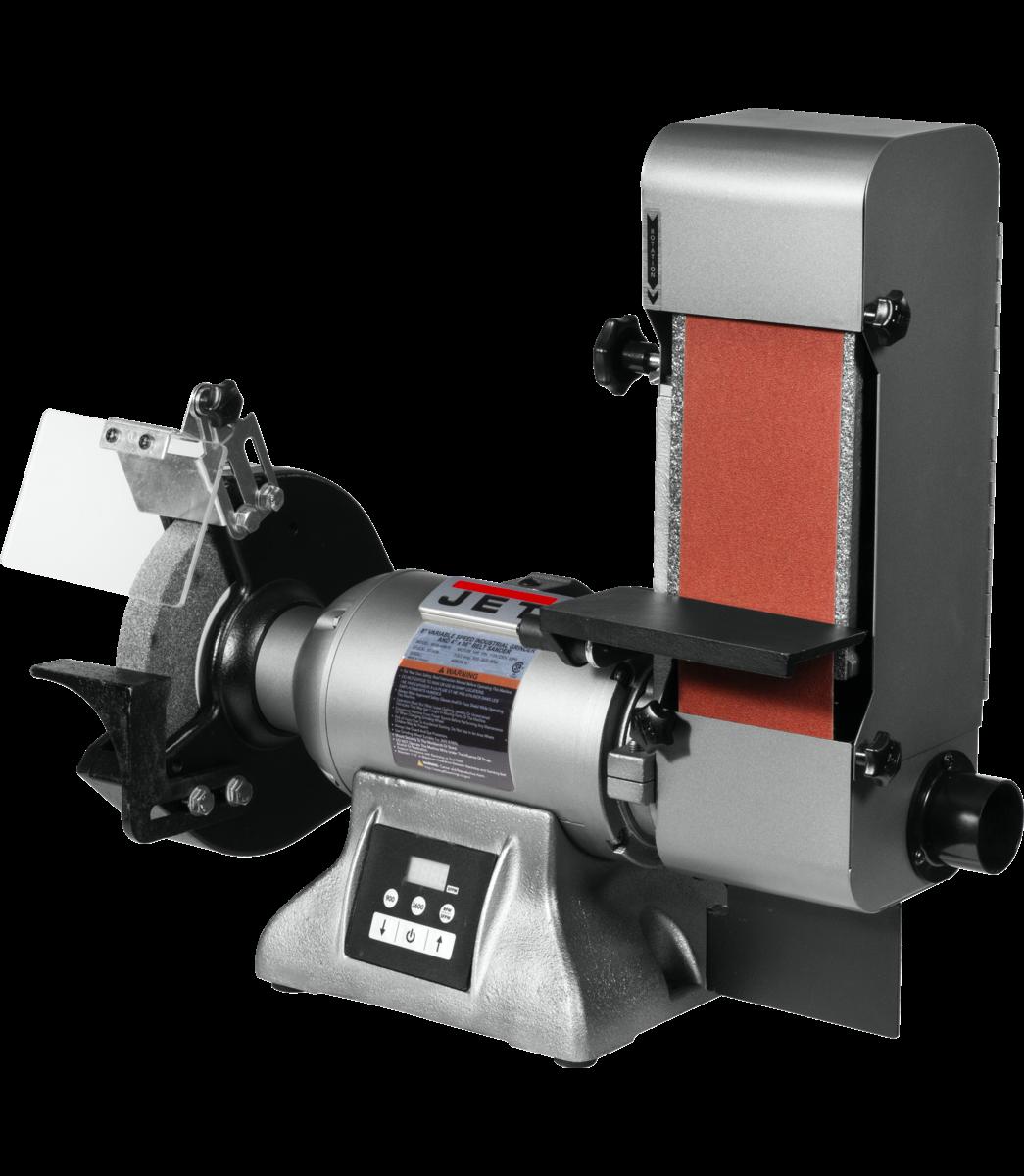 IBGB-436VS 8-Inch Variable Speed Industrial Grinder and  4 x 36 Belt Sander