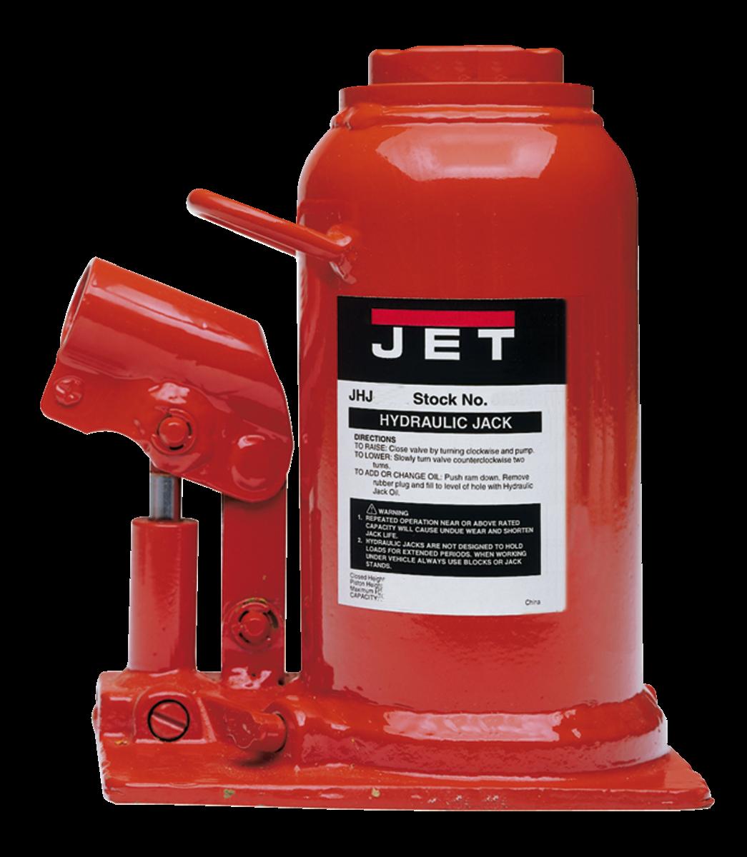 JHJ-17-1/2L, 17-1/2-Ton Low Profile Hydraulic Bottle Jack