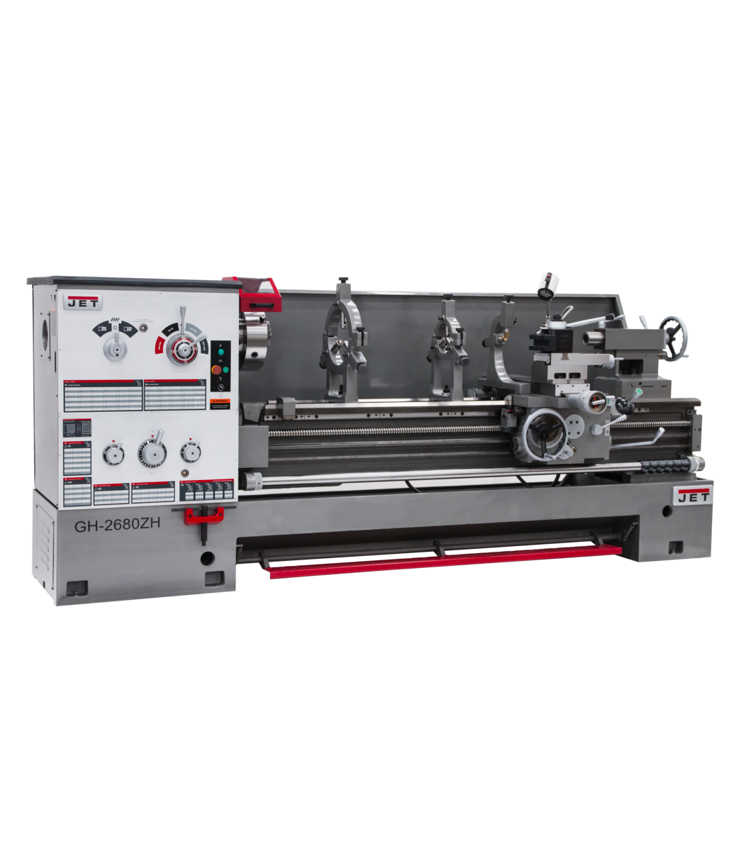 """GH-2680ZH, 4-1/8"""" Spindle Bore Geared Head Lathe"""