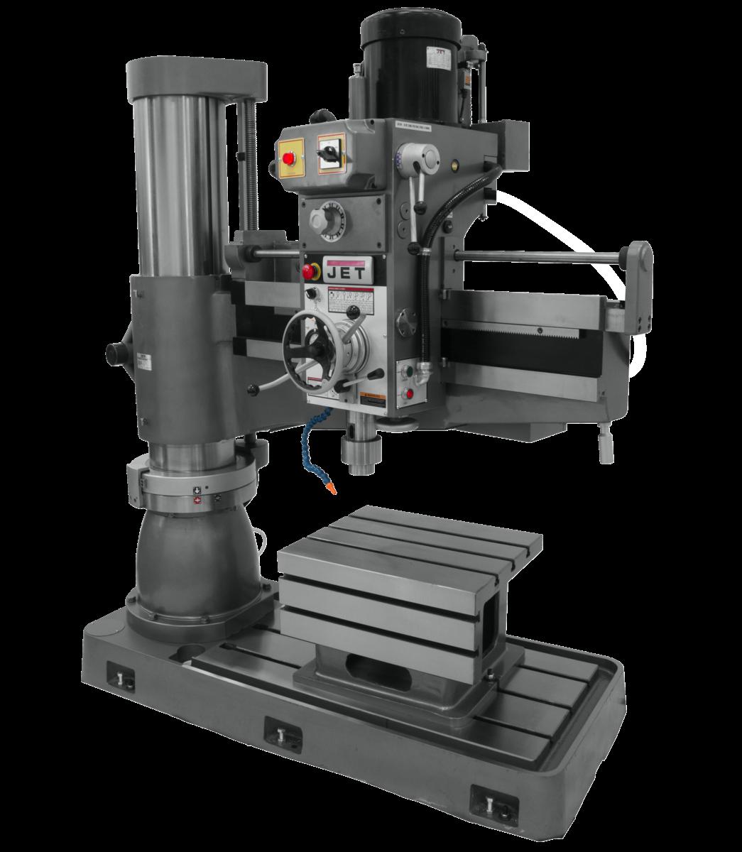 J-1230R, 4' Arm Radial Drill Press 230V