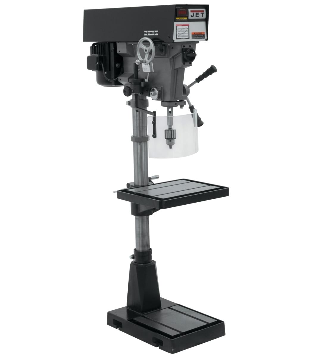 """J-A5818 15"""" Variable Speed Floor Model Drill Press 230/460V"""