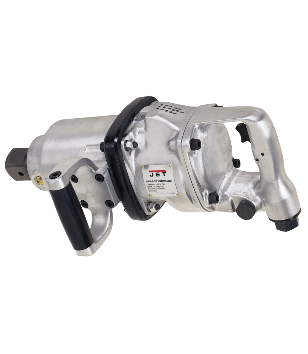 "JET-5000, 1-1/2"" D-Handle Impact Wrench"
