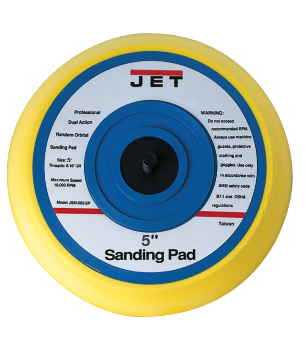 """JAT-730, PSA 5"""" SANDING PAD"""