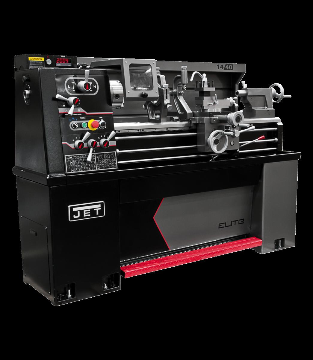 E-1440VS  With ACU-RITE 203 DRO With Taper Attachment and Collet Closer