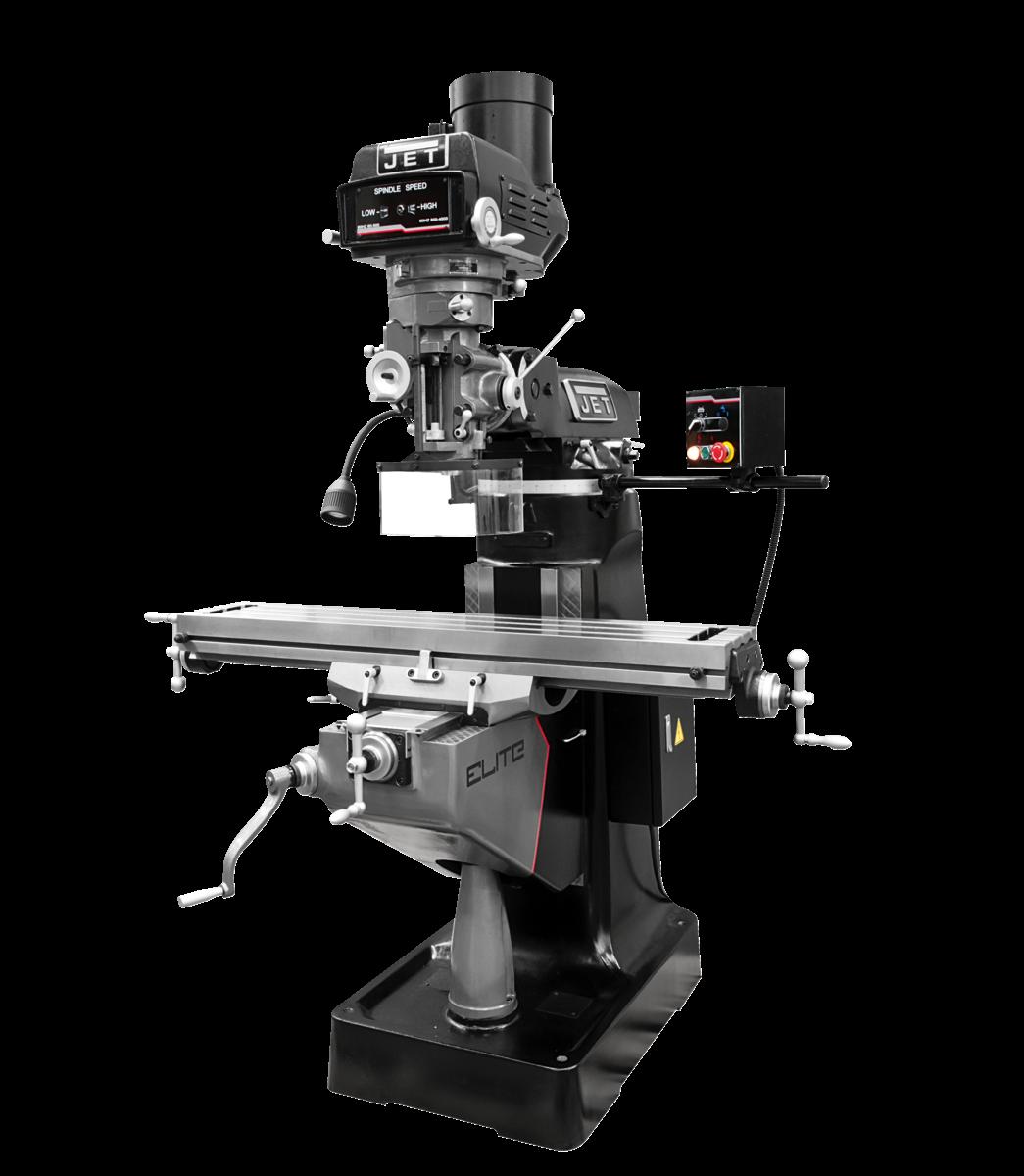 ETM-949 Mill with X, Y, Z-Axis JET Powerfeeds