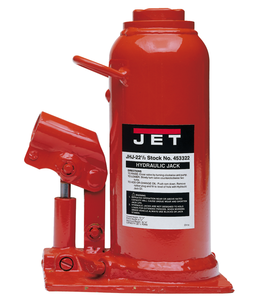 JHJ-22-1/2, 22-1/2-Ton Hydraulic Bottle Jack