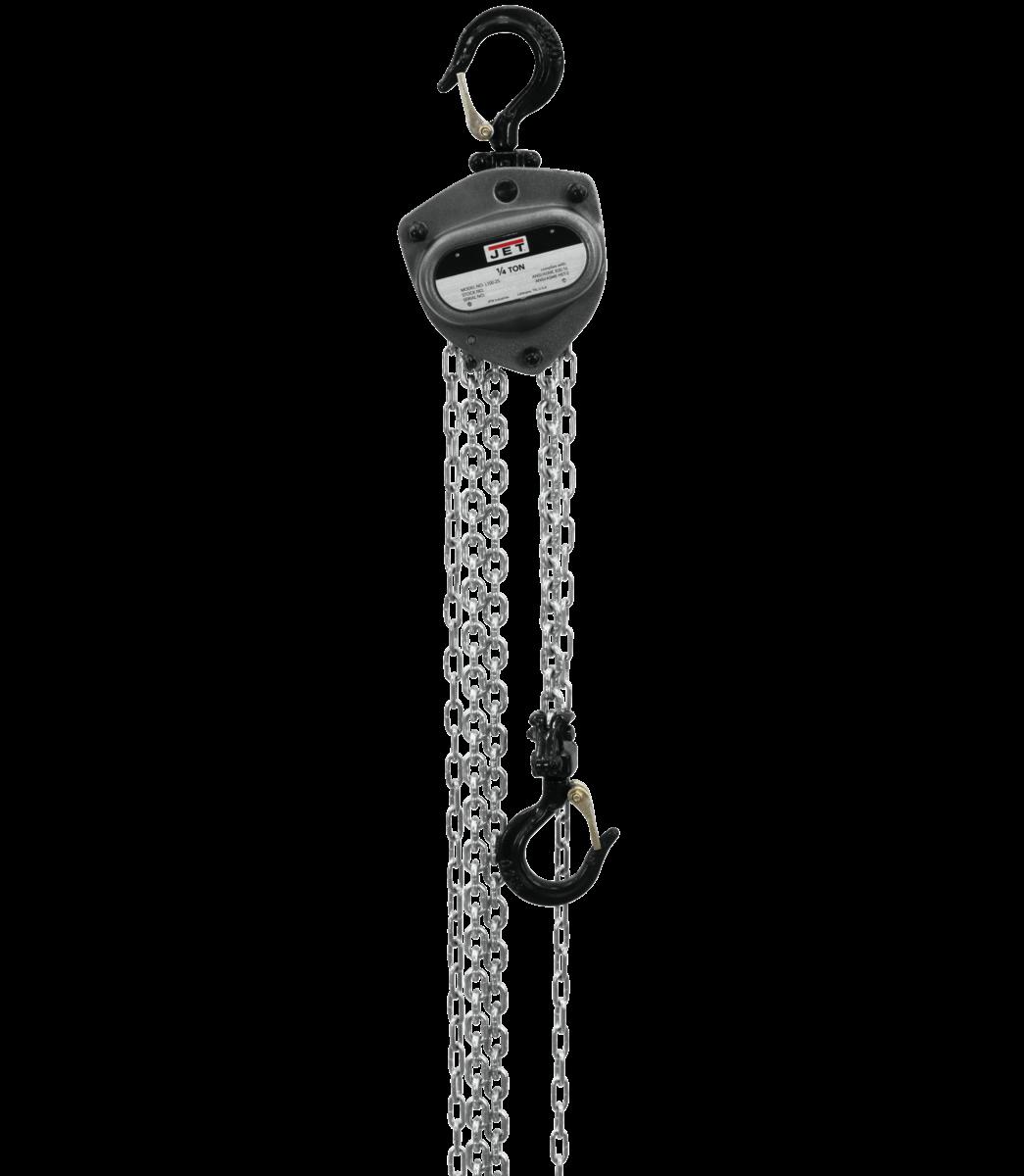 L100-250WO-30 polipasto de 1/4 de tonelada con elevación de 30' y protección contra sobrecarga