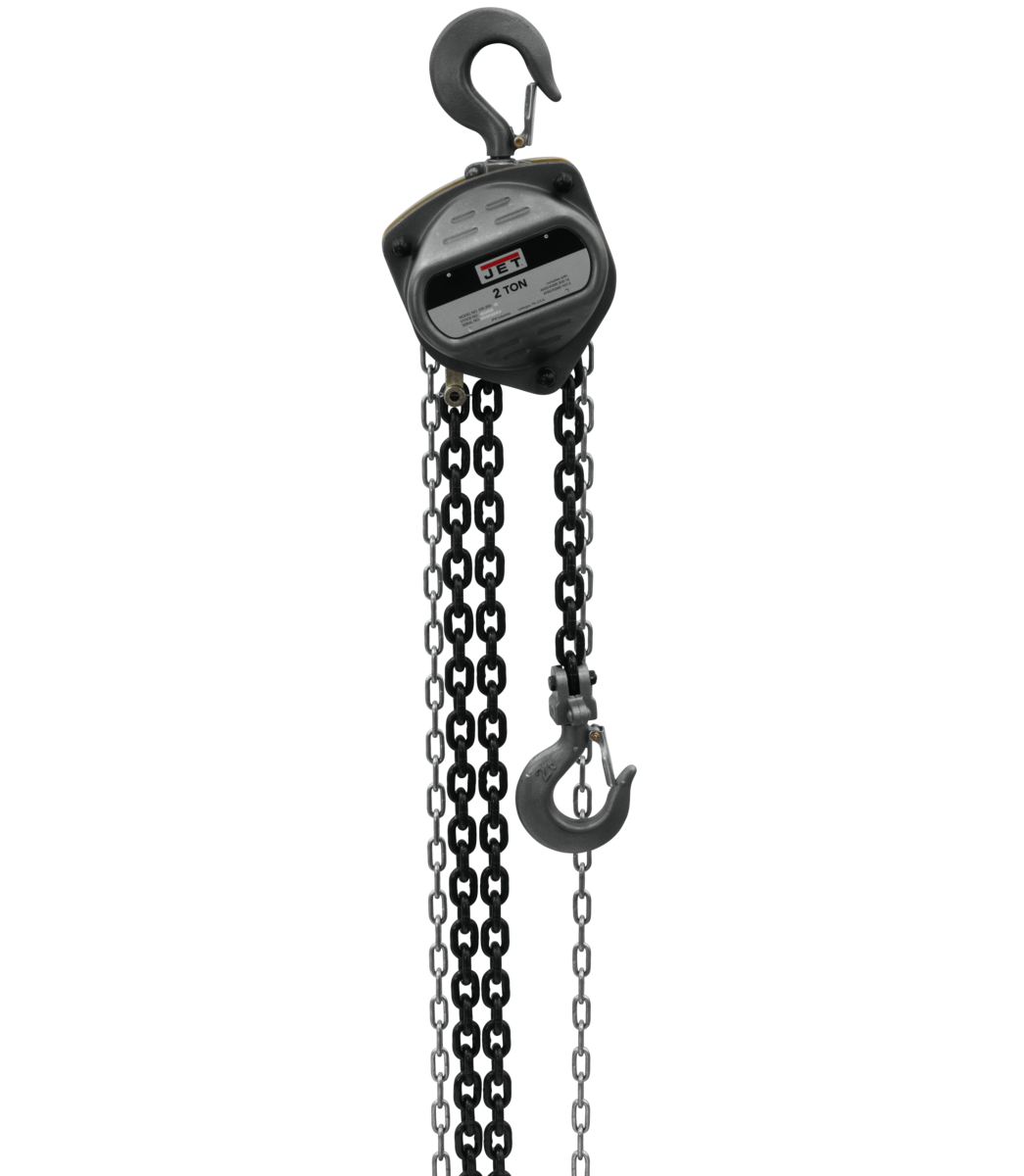 S90-200-20, 2-Ton Hand Chain Hoist With 20' Lift