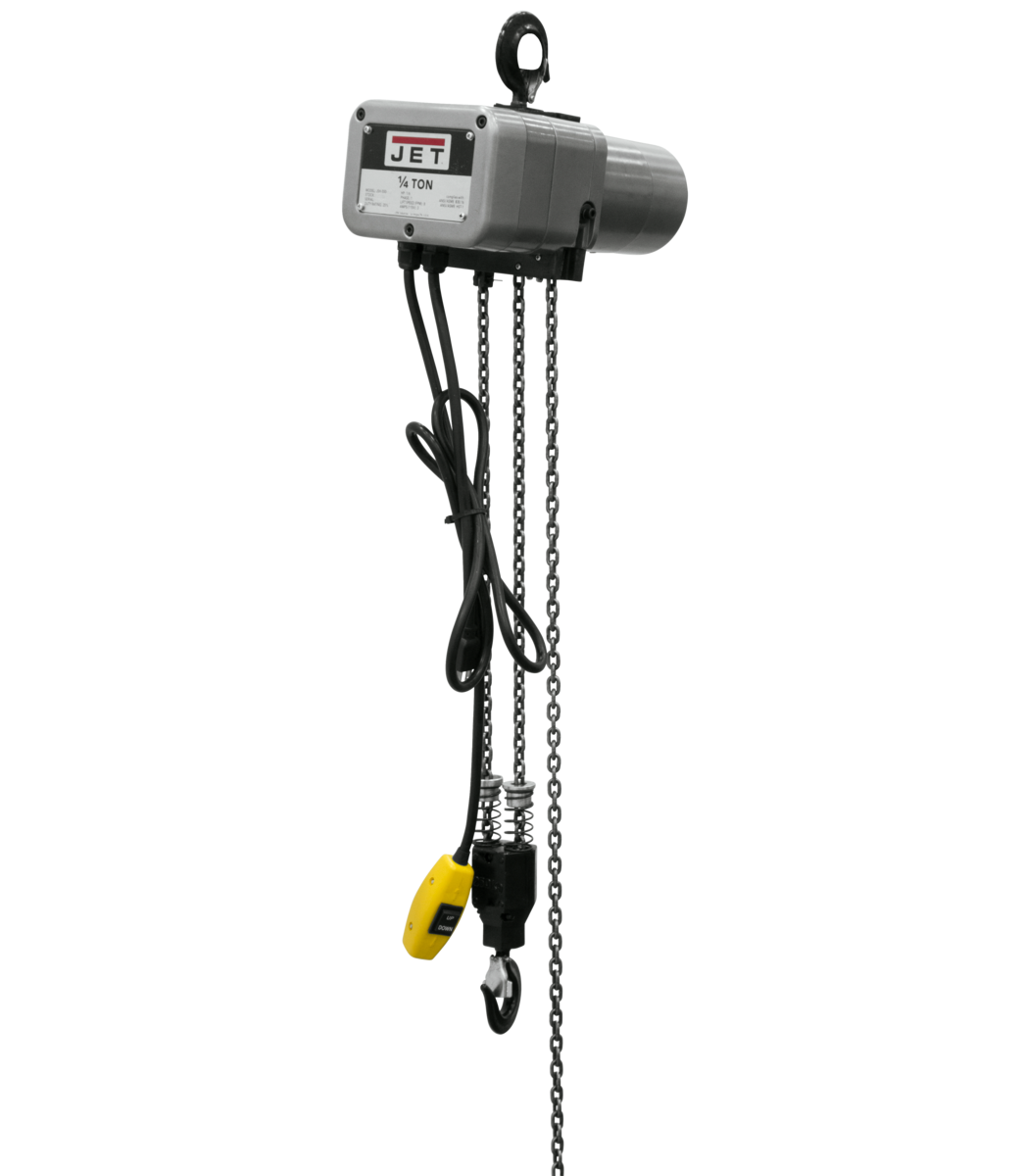 JSH-550-10 1/4-Ton Electric Chain Hoist 1-Phase 10' Lift
