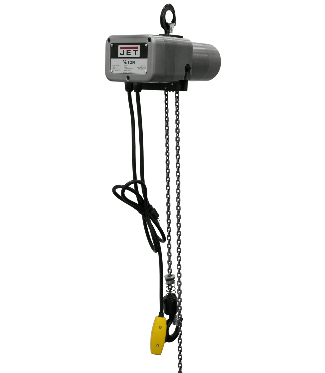 JSH-275-15 1/8-Ton Electric Chain Hoist 1-Phase 15' Lift
