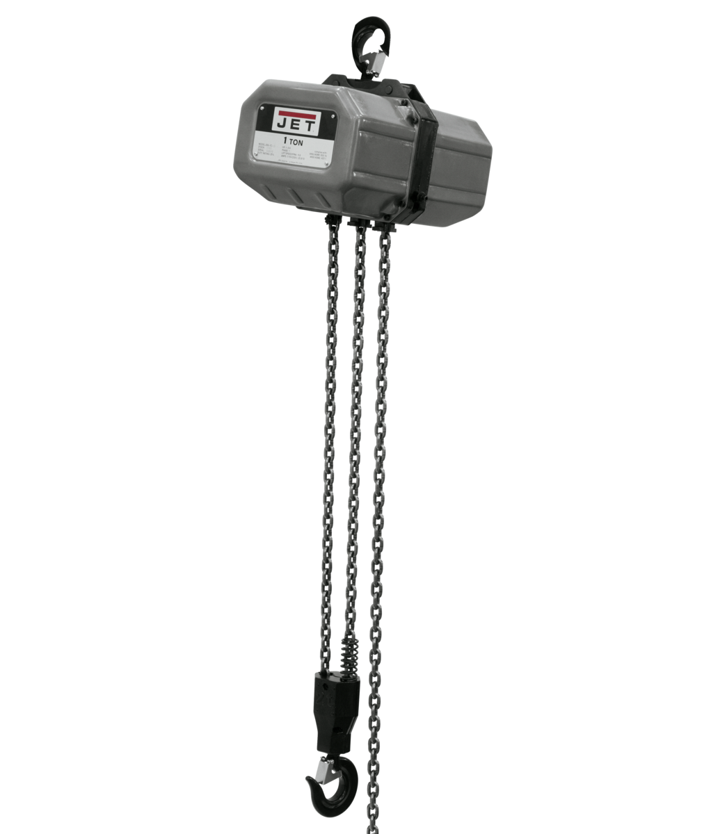 1SS-1C-15, 1-Ton Electric Chain Hoist 1-Phase 15' Lift