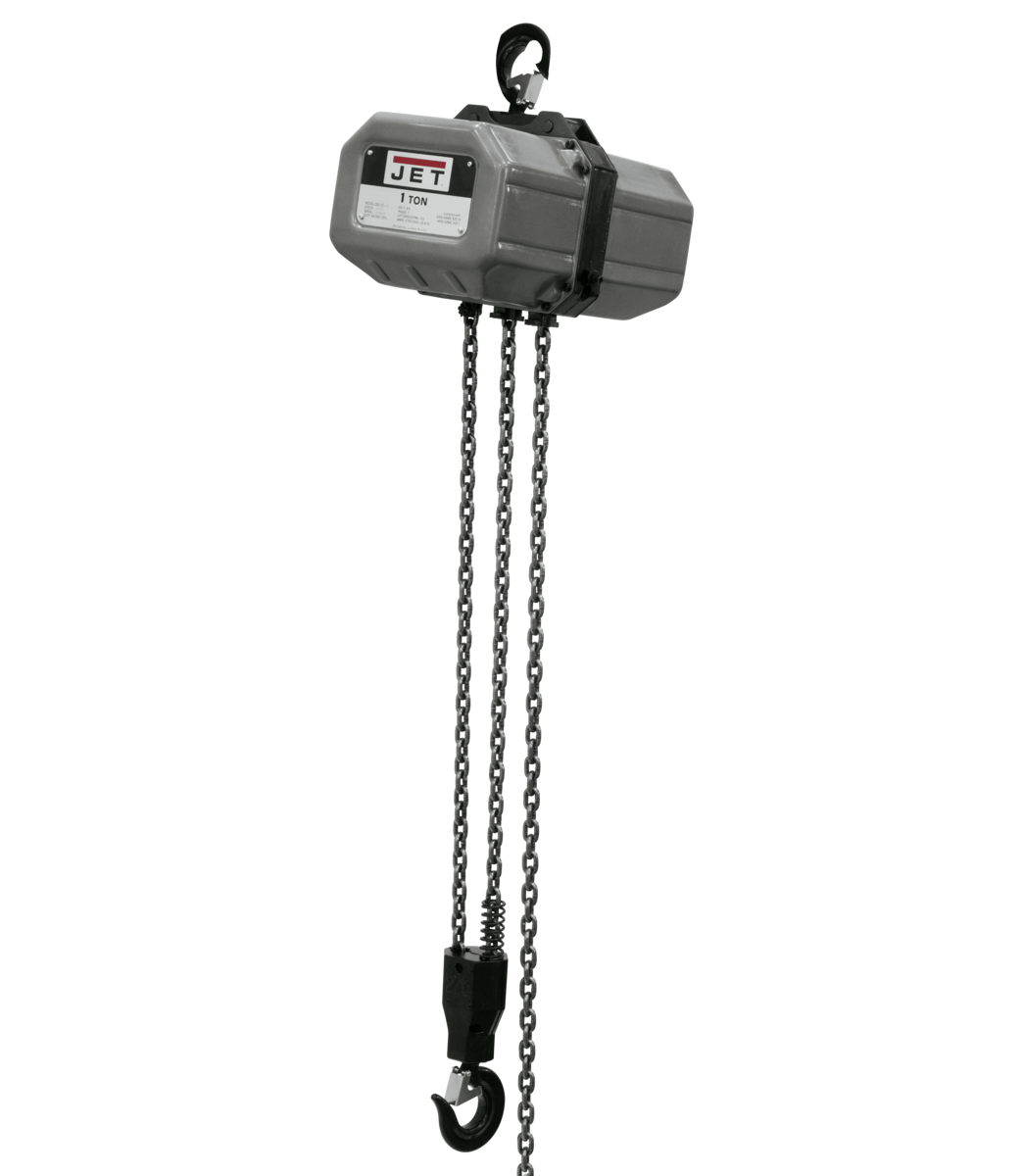 1SS-1C-20, 1-Ton Electric Chain Hoist 1-Phase 20' Lift