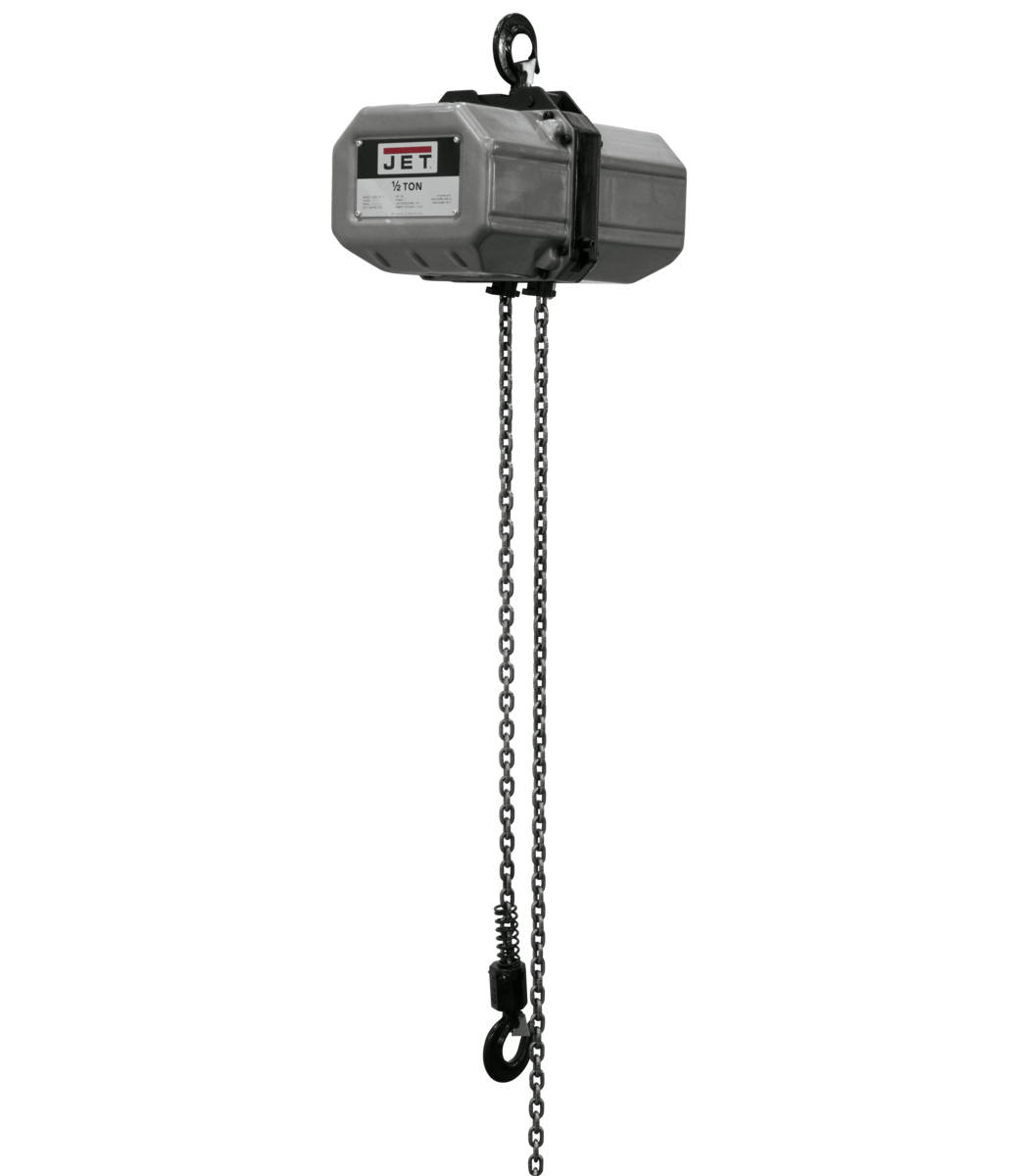 1/2SS-1C-10, 1/2-Ton Electric Chain Hoist 1-Phase 10' Lift