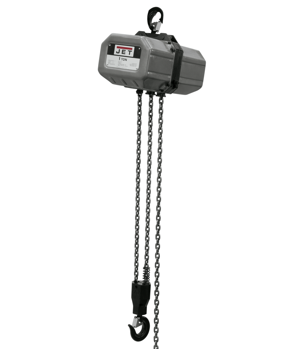 1SS-3C-15, 1-Ton Electric Chain Hoist 3-Phase 15' Lift