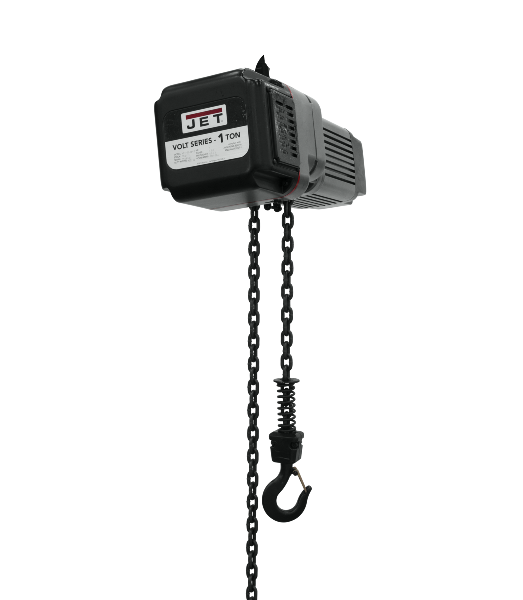 VOLT 1T VARIABLE-SPEED ELECTRIC HOIST 1PH/3PH 230V 10' LIFT