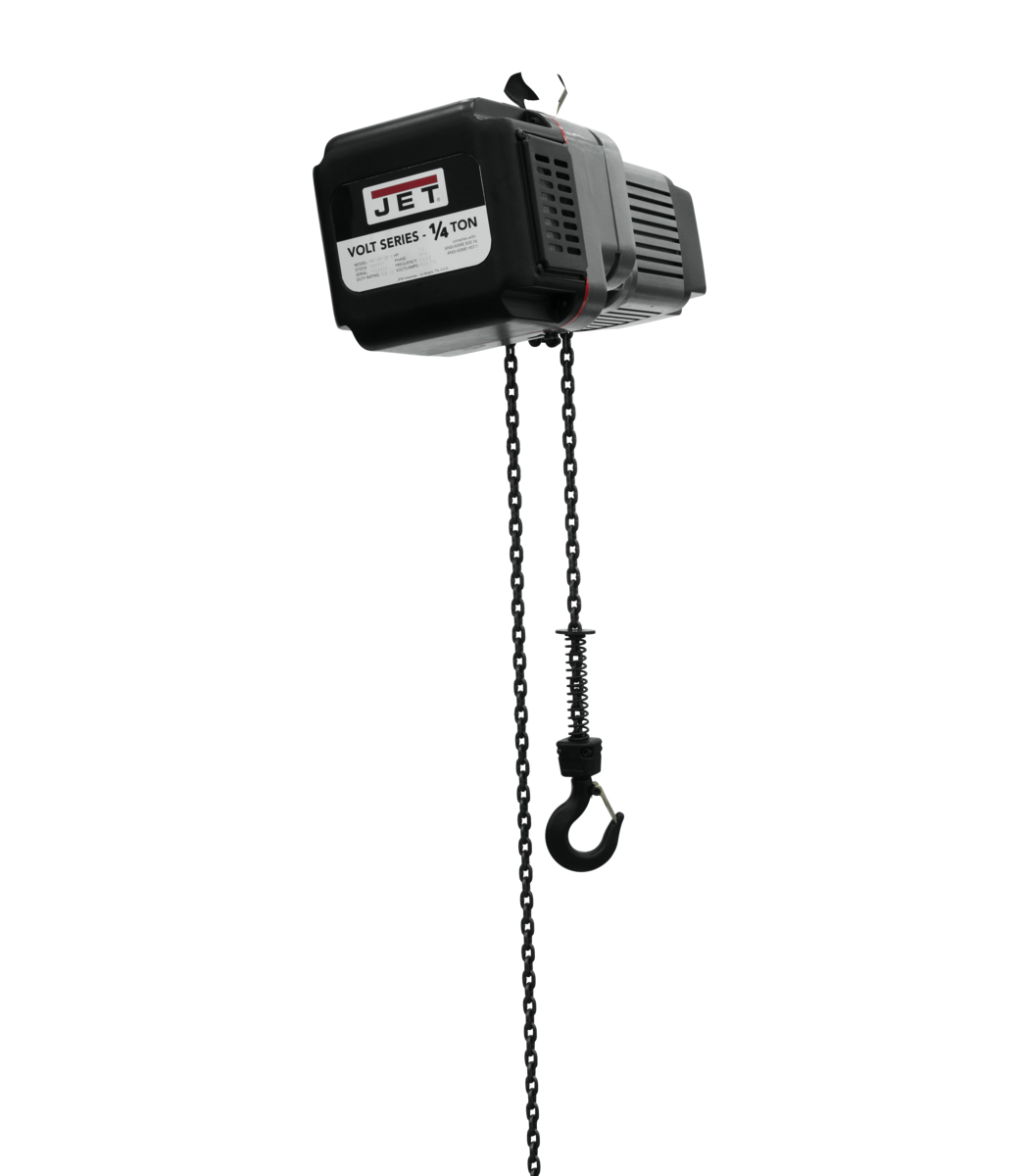 VOLT 1/4T VARIABLE-SPEED ELECTRIC HOIST 1PH/3PH 230V 15' LIFT