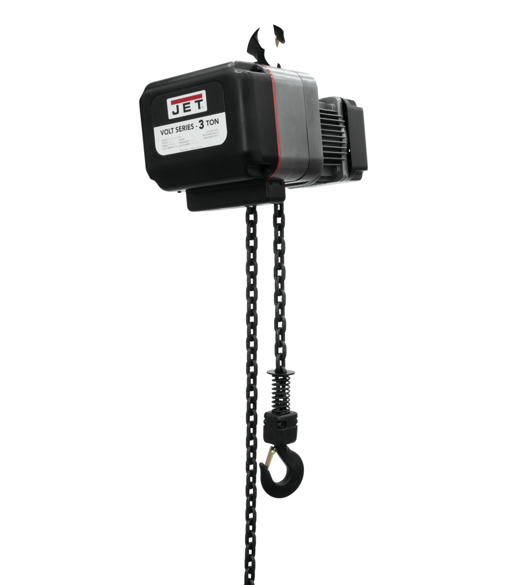 VOLT 3T VARIABLE-SPEED ELECTRIC HOIST  3PH 230V 10' LIFT