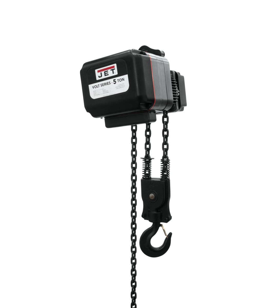 VOLT 5T VARIABLE-SPEED ELECTRIC HOIST  3PH 230V 20' LIFT