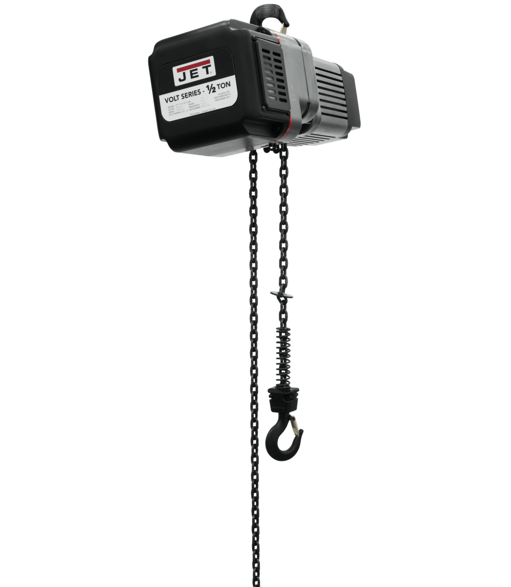 VOLT 1/2T VARIABLE-SPEED ELECTRIC HOIST 1PH/3PH 230V 15' LIFT