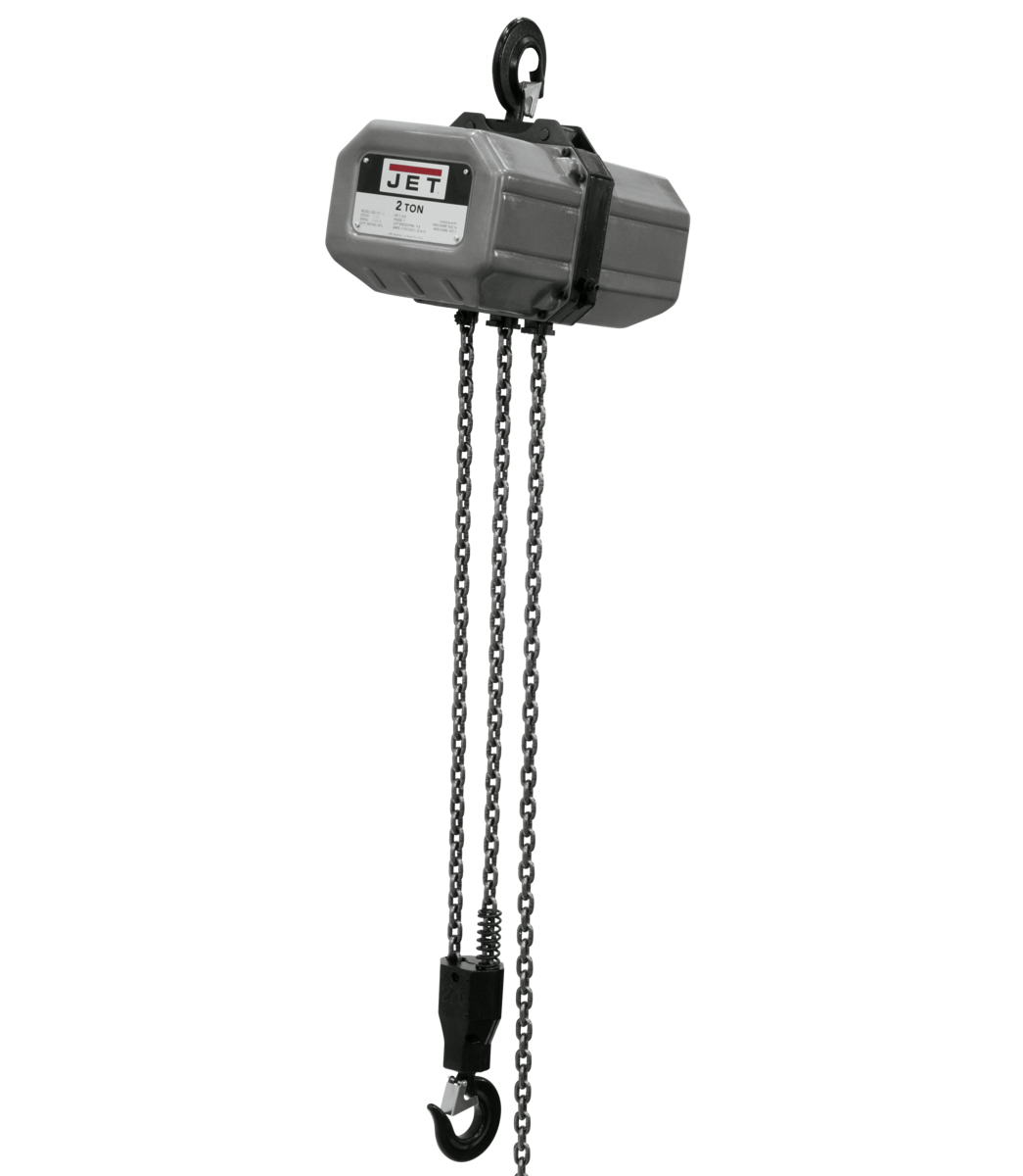 2SS-3C-10, 2-Ton Electric Chain Hoist 3-Phase 10' Lift