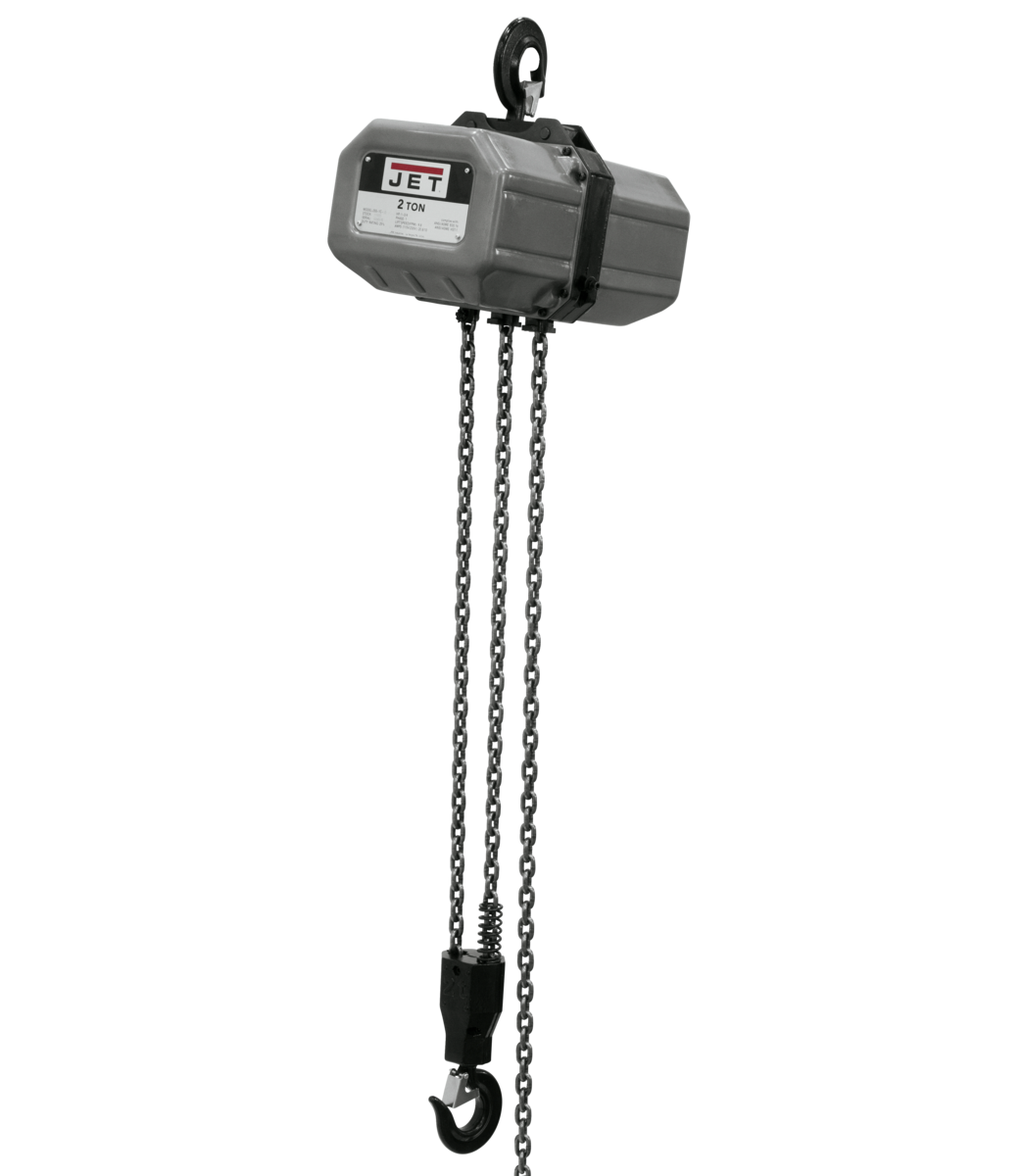 2SS-3C-15, 2-Ton Electric Chain Hoist 3-Phase 15' Lift
