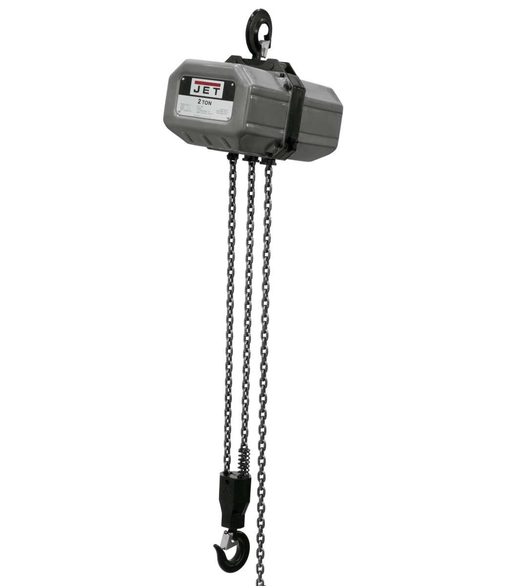 2SS-3C-20, 2-Ton Electric Chain Hoist 3-Phase 20' Lift