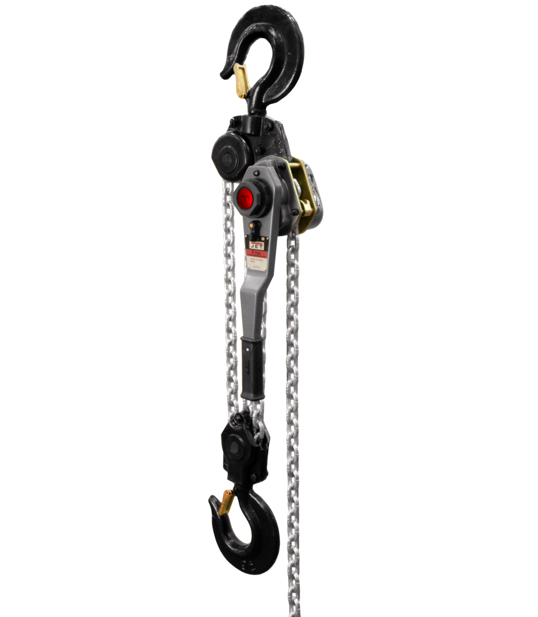 JLH Series 9 Ton Lever Hoist, 15' Lift with Overload Protection