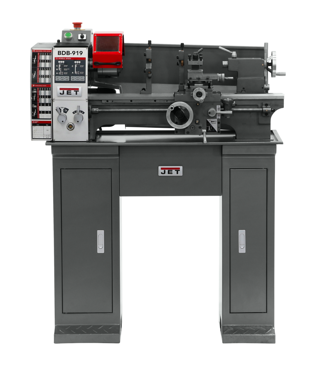BDB-919 BELT DRIVE LATHE WITH STAND