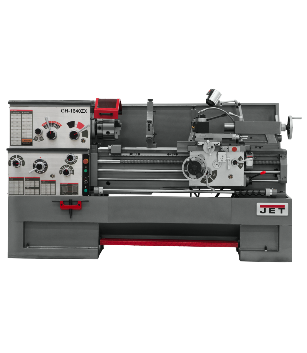 GH-1640ZX Lathe With 3-Axis Acu-Rite 203 DRO