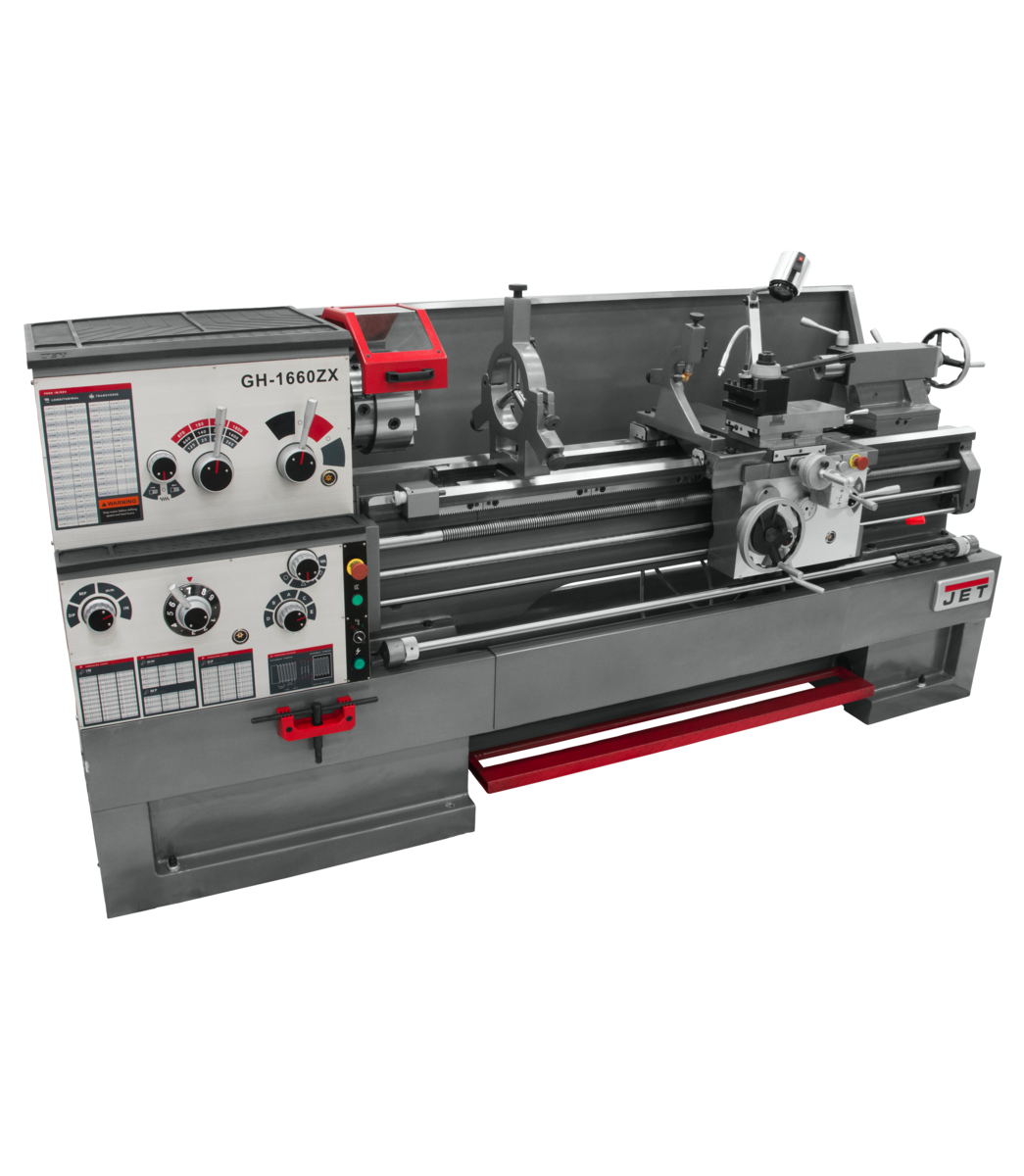 """GH-1660ZX, 3-1/8"""" Spindle Bore Geared Head Lathe"""