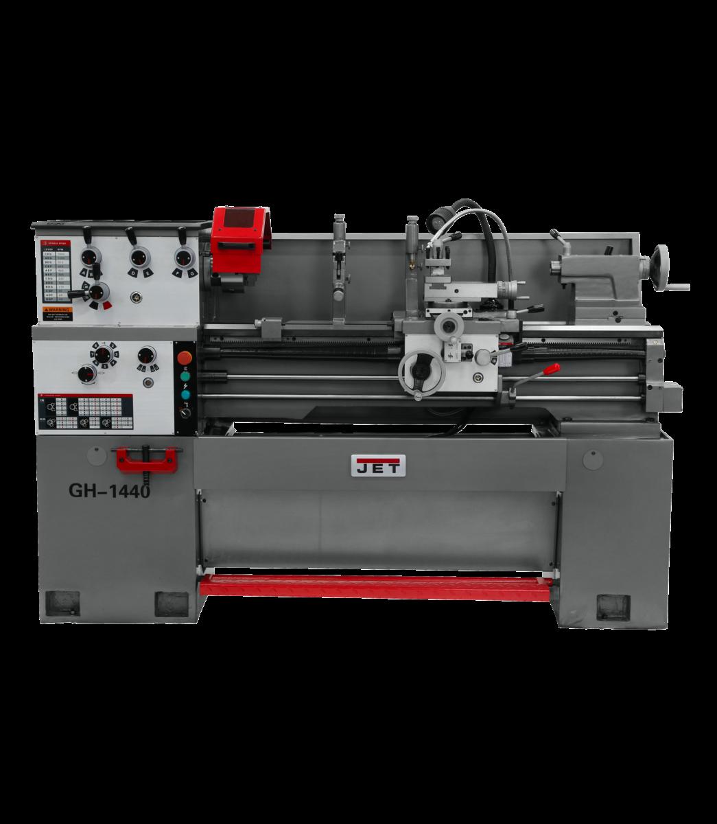 GH-1440-1   LATHE DP700 DRO & COLLET CLO