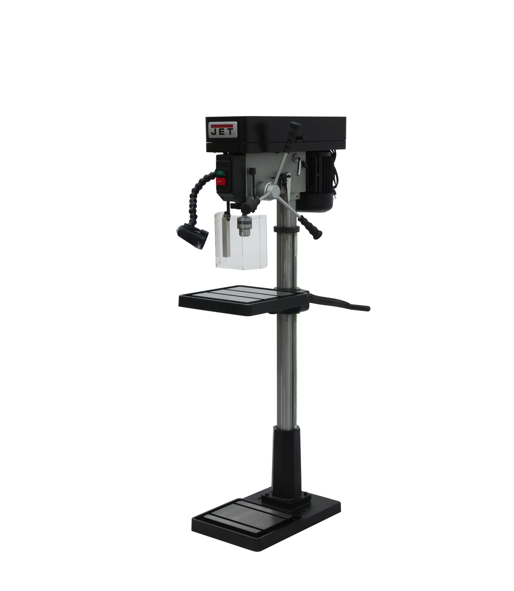 "IDP-17, 17"" Industrial Floor Model Drill Press"