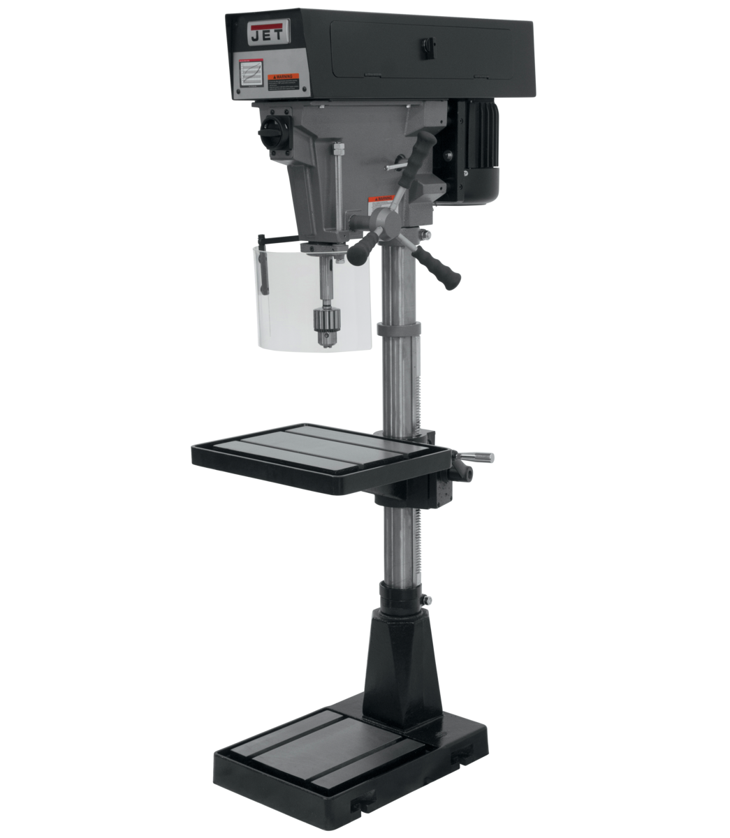 "J-A3816, 15"" 6-Speed Floor Model Drill Press 115/230V 1Ph"