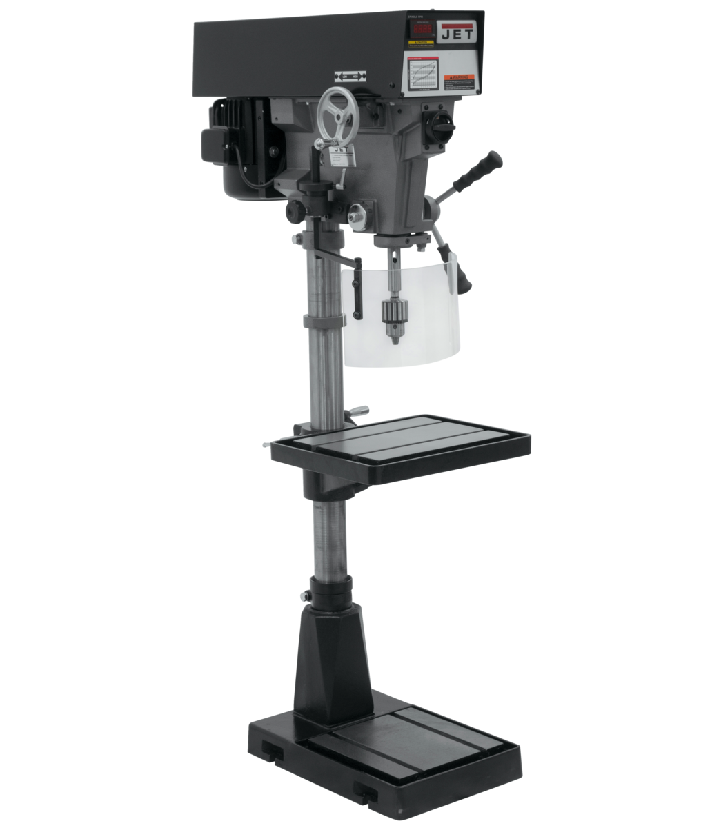 "J-A5818 15"" Variable Speed Floor Model Drill Press 230/460V"