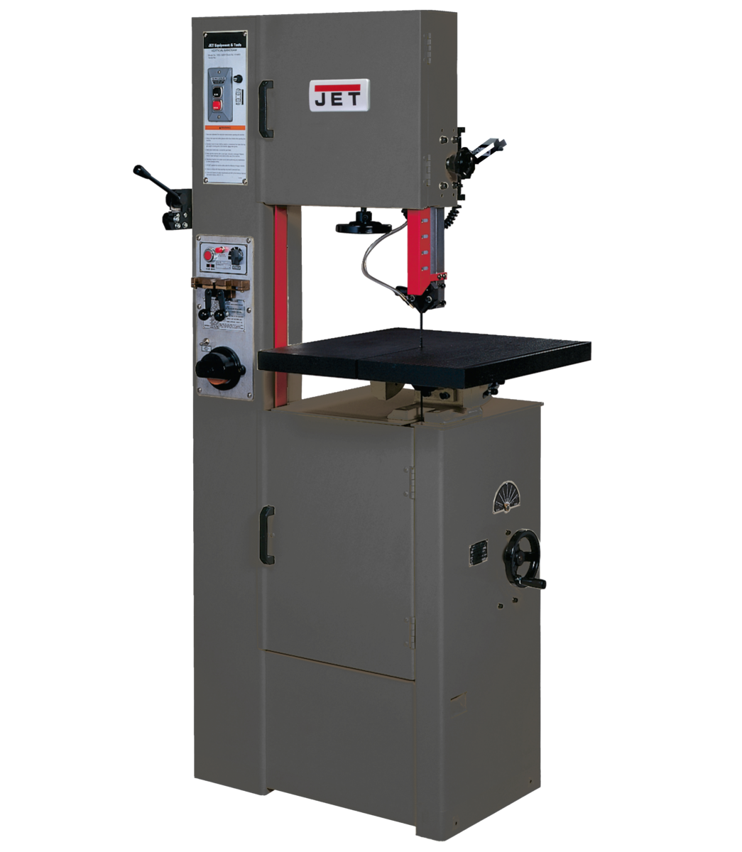 "Sierra-cinta vertical de 14"", 1 HP, 115/230 V, monofásica, 115/230 V"