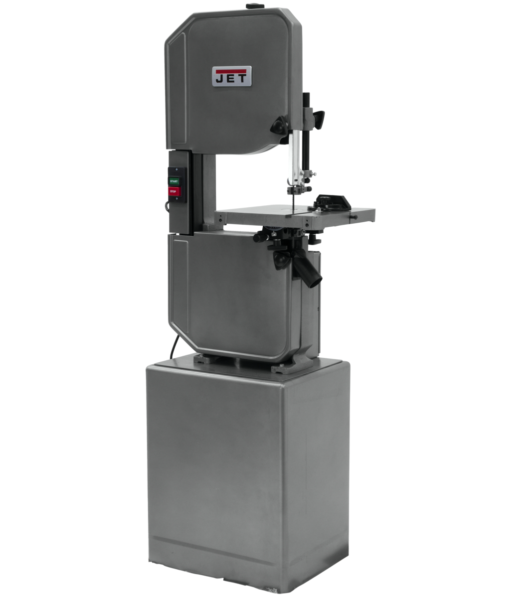 "J-8201VS, 14"" Metal/Wood Vertical Variable Speed Bandsaw"