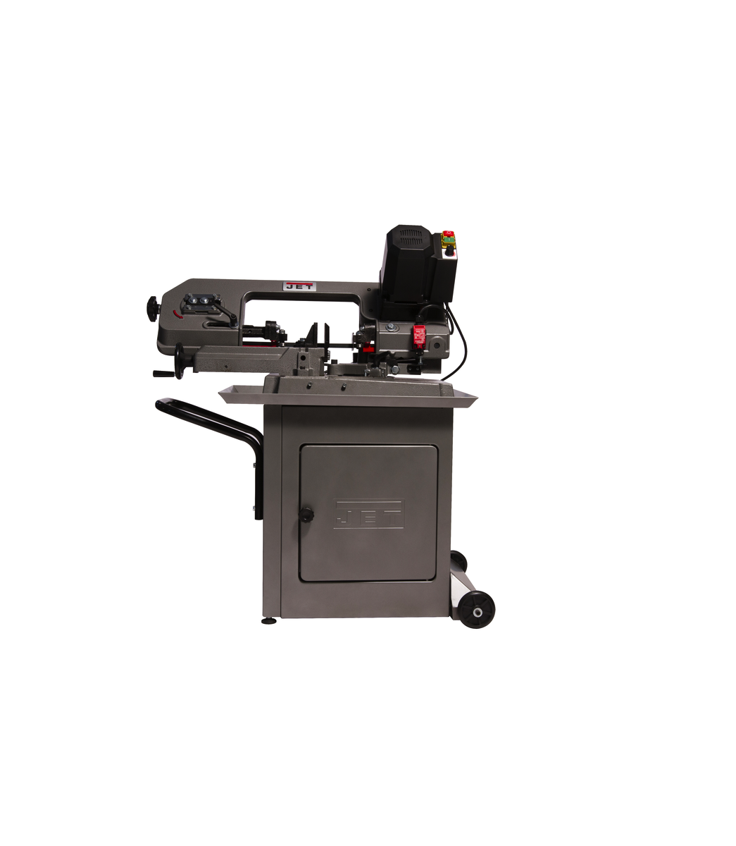 "HBS-56MVS, Variable Speed, Mitering 5"" x 6"" Horizontal Bandsaw, .5HP 115V"