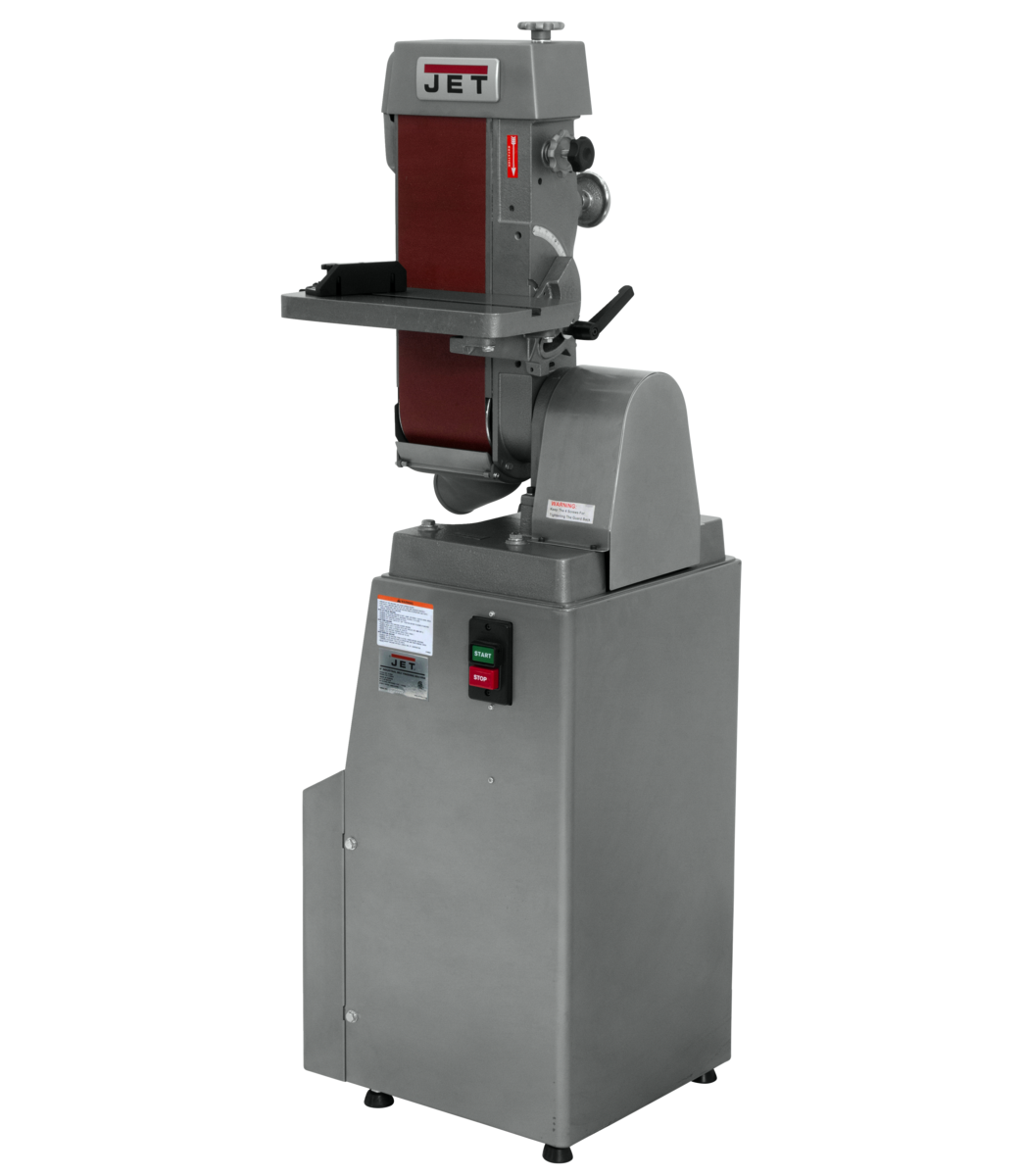 "J-4300A, 6"" x 48"" Industrial Belt Finishing Machine 1Ph"
