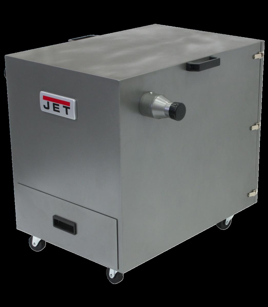 JDC-500 Gabinete recolector de polvo para metal, 1,5 HP,115/230 V