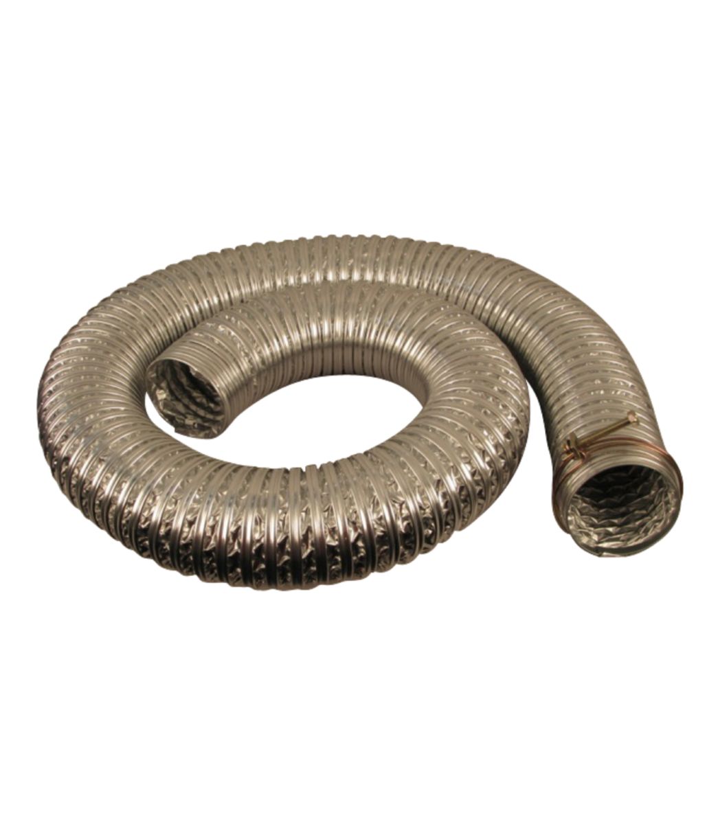 "3"" Heat Resistance Hose to 130 Deg., 8ft"