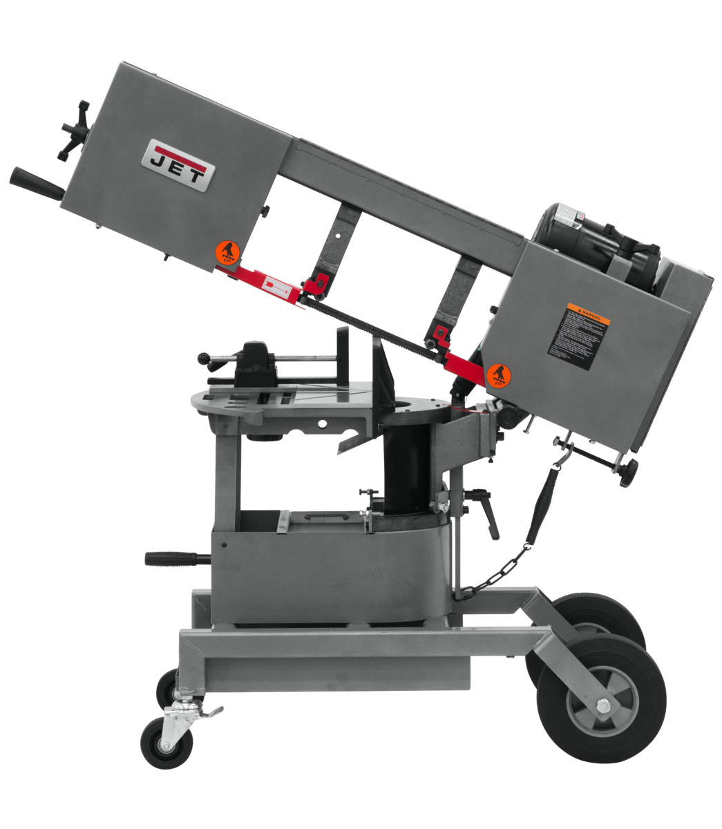 "HVBS-10 DMW  10""  Horizontal/Vertical Dual Mitering Portable Band Saw , 1HP, 115V, 1 Ph"