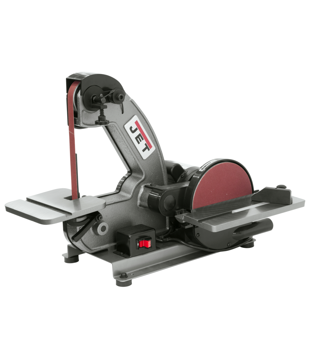 J-4002 1 x 42 Bench Belt and Disc Sander