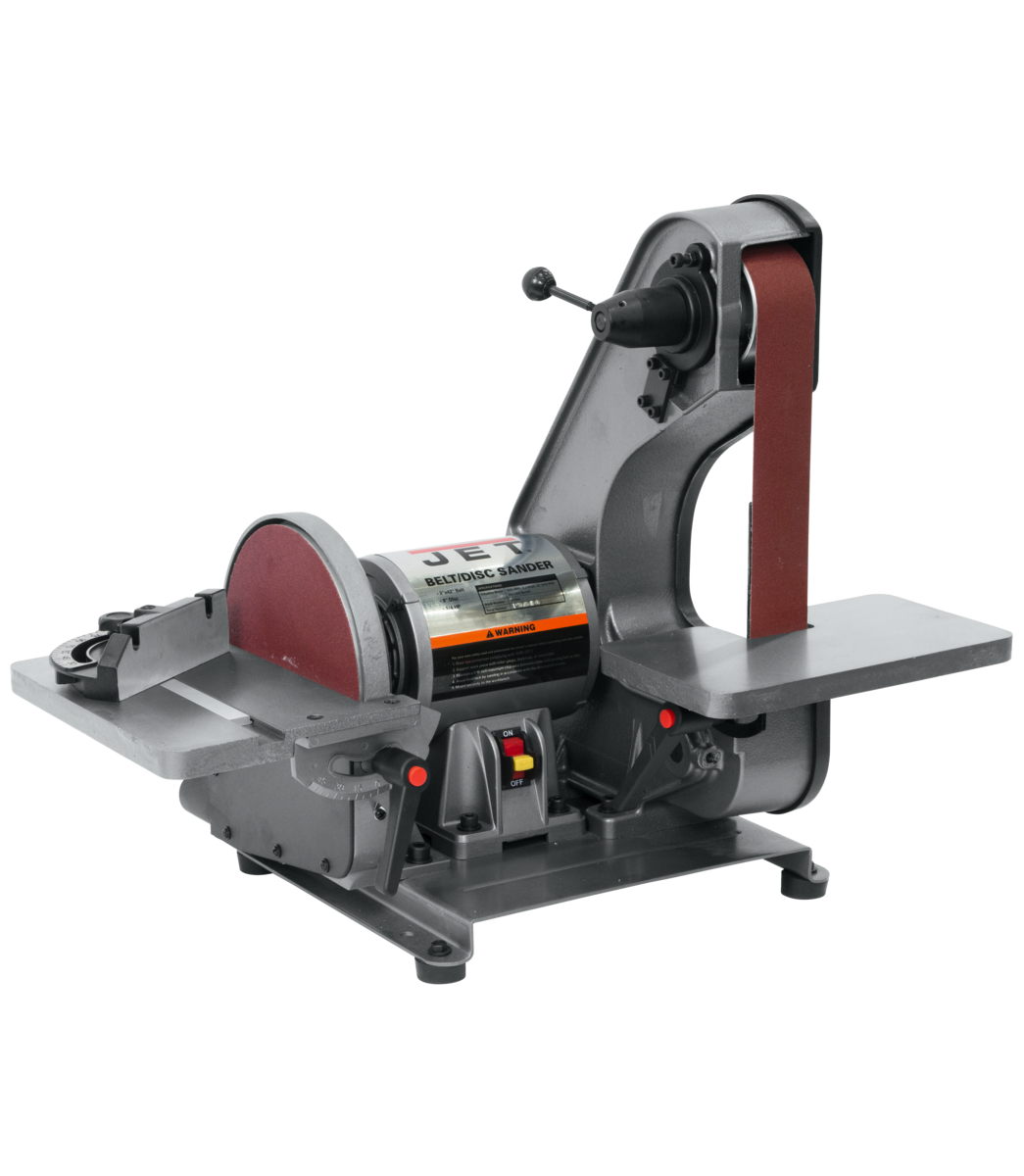 J-41002 2 x 42 Bench Belt Grinder & Disc Sander