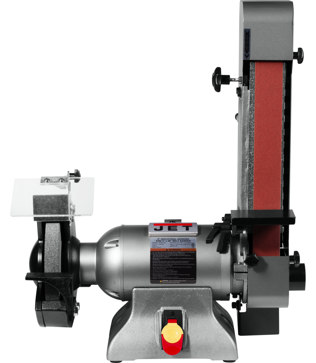 IBGB-248 8-Inch Industrial Grinder and  2 x 48 Belt Sander
