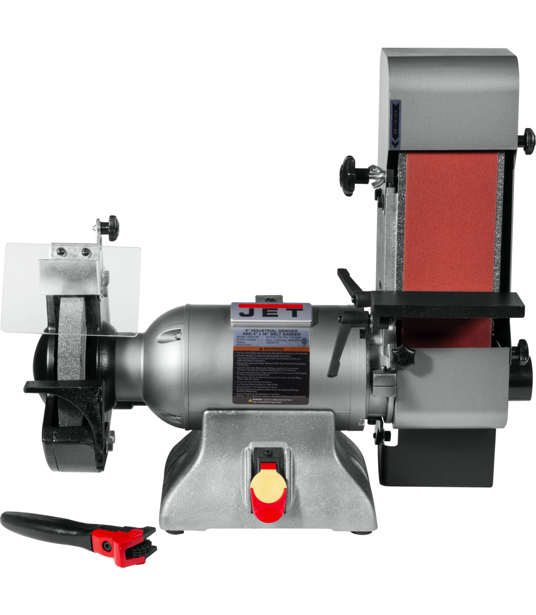 IBGB-436 8-Inch Industrial Grinder and  4 x 36 Belt Sander